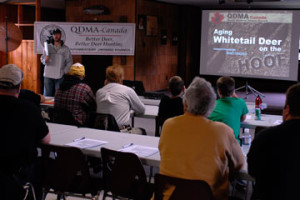 QDMA Southwestern Ontario seminar sponsored by Rack Stacker Deer Products