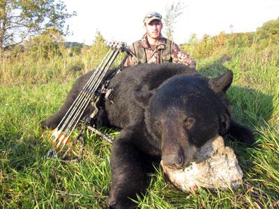 Tom's Bowtech Ontario Black Bear