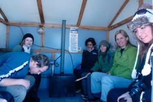 Floyd Hale Ice huts