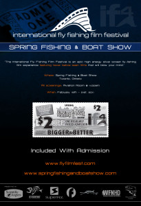 International fly fishing film festival at the spring for Fly fishing film festival