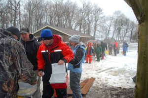 Lake Simcoe MS Ice Fishing Fundraiser Derby