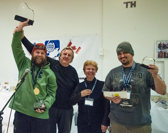 Team 24 Ken Prentice and Calvin Perry 2013 Canadian Ice Fishing Champions