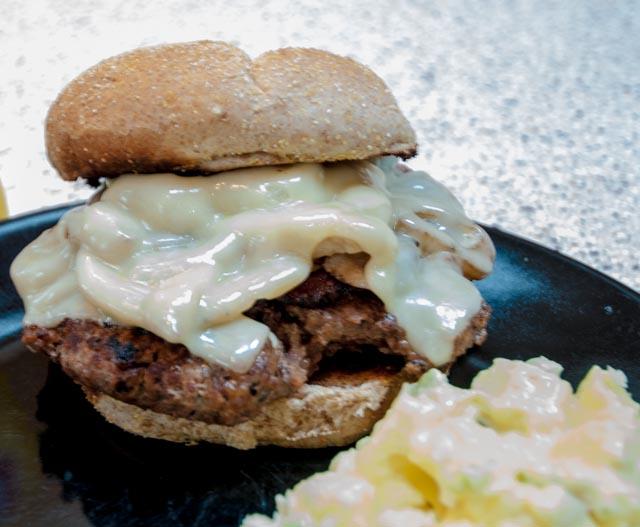 Deluxe Venison Burger