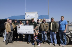 The SWOC donated $1000 to the Port Stanley Fish Hatchery for conservation and fish stocking