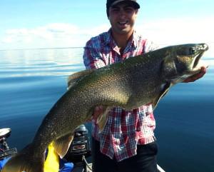 Lake Trout on Simcoe