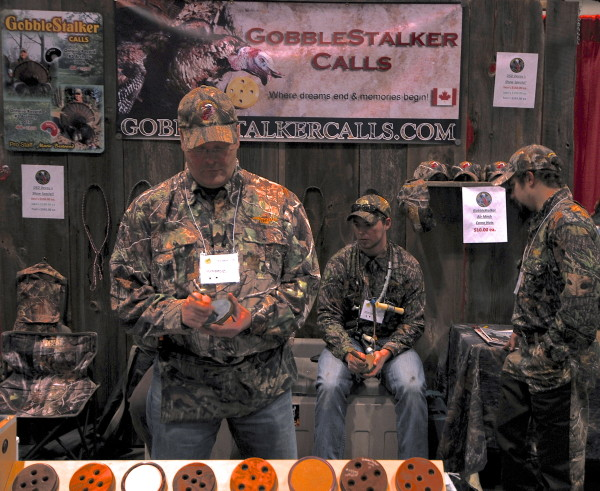 Kevin Barkley owner of Hand Crafted Custom Turkey Calls with Gobble Stalker Game Calls