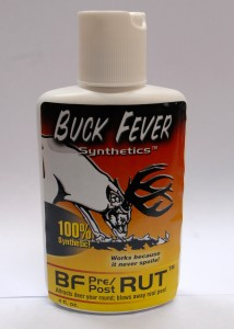 4oz BF Pre/Post Rut Jiuce great for mock scrapes year round. Legal to use in Canada as it is 100% synthetic