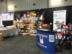 Buck Fever Canada Hunt Talk Booth