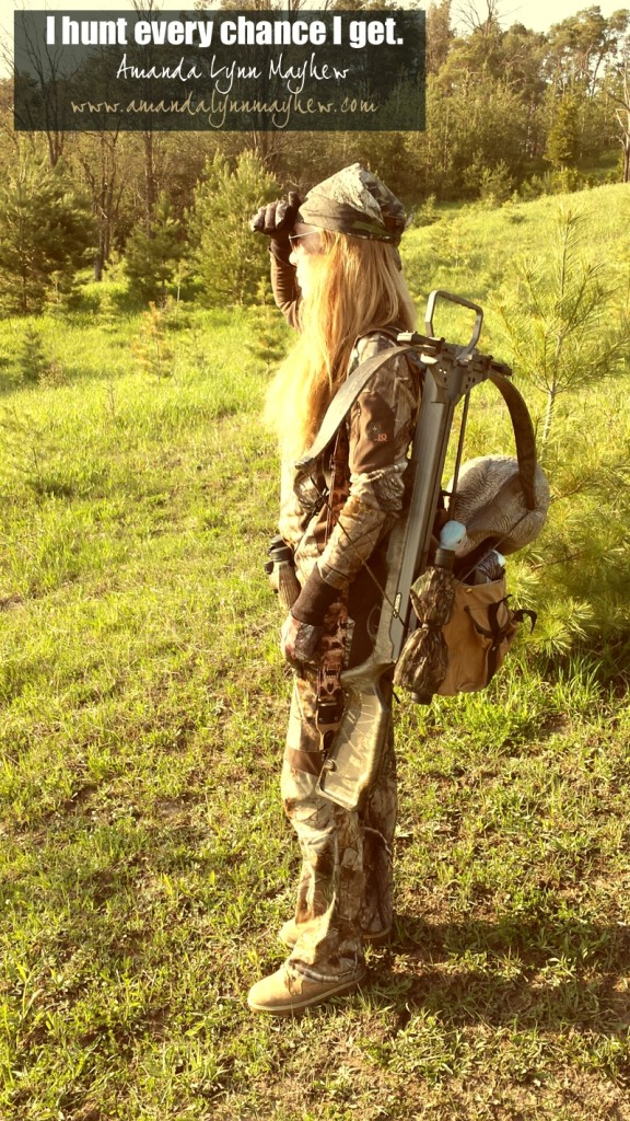 Amanda Lynn Mayhew lives to hunt