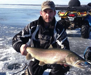 Tom with a huger Laker