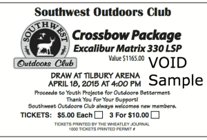 Win A Crossbow Ticket 2015
