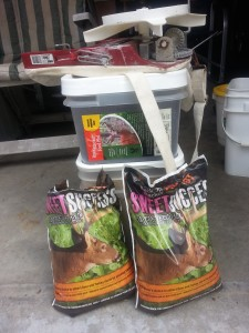 Sweet Success and Field Edge seed for your DIY food plot
