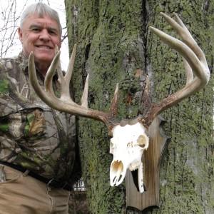 The Nooner Buck mount work by Jim Branch